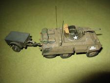 U.S. Spähpanzer M8 Greyhound, 1945 am Rhein. (ROCO 1:87)