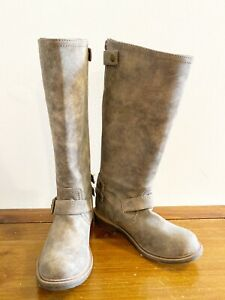 Nine-West-Motol1-Women-Round-Toe-Synthetic-Knee-High-Riding-Boots-Size-6-M
