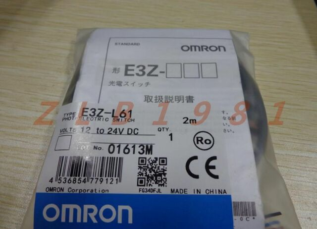 One Omron Photoelectric Switch E3Z-L61 NEW-