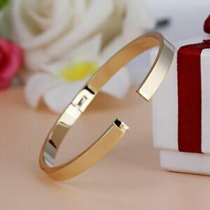 Bracelet-Stainless-Cuff-Unisex-Men-Wristband-Lover-K6J7-Bangle-Charm-Steel-G7I6