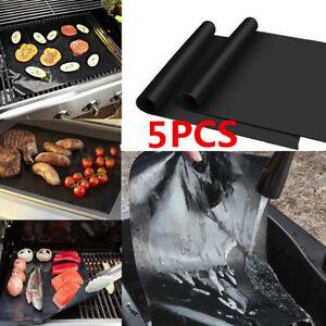 5x-BBQ-Reusable-Black-Liner-Non-stick-Barbecue-Cook-Baking-Mat-Heat-Resistant