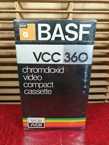 Details about BASF VCC 360 chromdioxid video compact cassette : Made in  Germany : NEW & SEALED