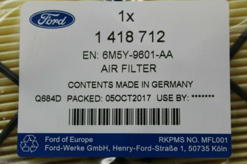 Focus S-Max Kuga 1418712 Original Luftfilter 2,5 V5 Ford Mondeo