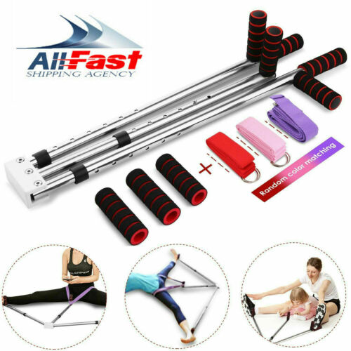 3-Bar Stainless Steel Leg Stretcher Stretching Machine Flexibility Training c 22