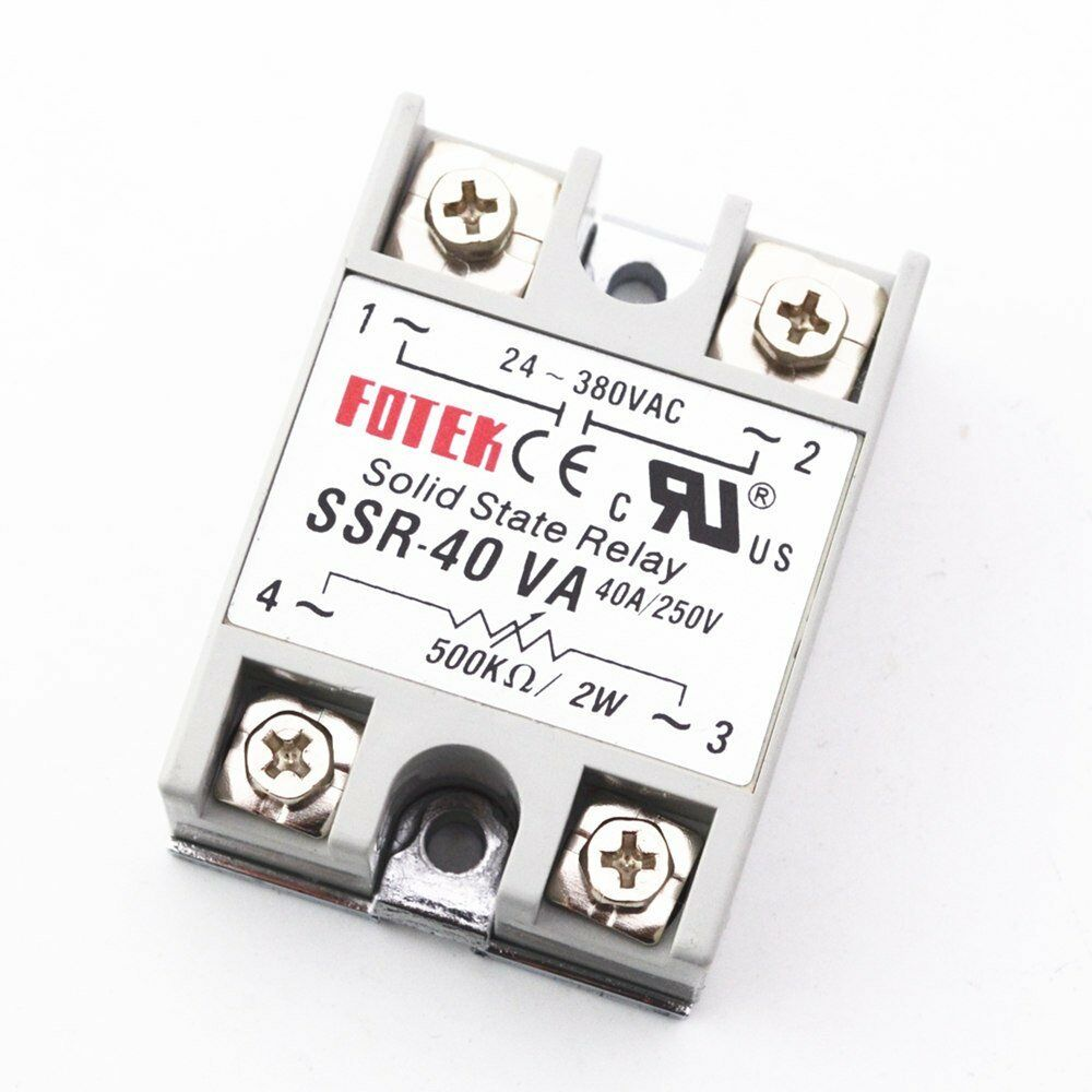Solid State Relay Ssr 40va 40a Input 24 380vac Pid Temperature Outlet Norton Secured Powered By Verisign