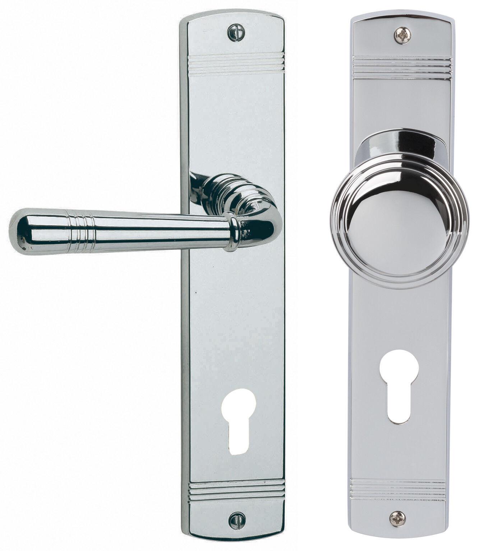 Südmetall Türbeschlag Sale Messing Messing Messing  Chrom poliert für W-Eingangstüren 32704563 | Elegant  84a34c