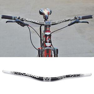 MTB Aluminium Handlebar Fahrrad Lenker Bar 31,8mm 780//720mm Riser Bar