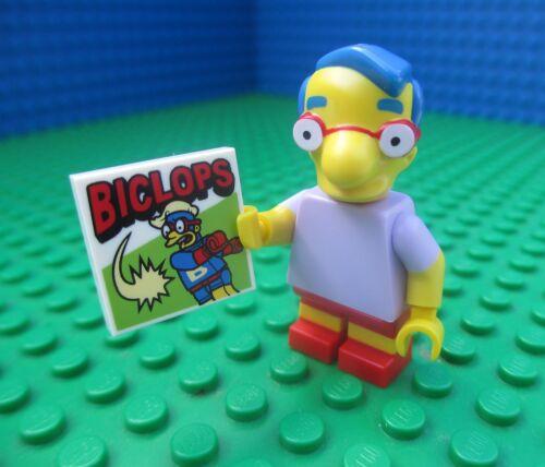 Lego 71005 The Simpsons Milhouse Van Houten Byclops Minifig Minifigure Series 1