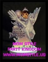 Dora Snow Princess Birthday Party Centerpiece