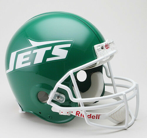 NEW YORK JETS 1978-1989 NFL FULL SIZE Football Helmet