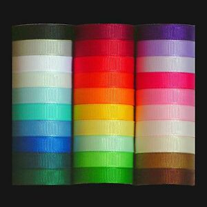 Grosgrain-Ribbon-Multipack-Quality-UK-Polyester-Offcuts-Samples-3mm-25mm