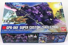 HG 1//144 GPB-06F Super Custom Zaku F2000 model Warriors Gundam Builders Beginni