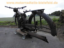 NSU FOX Zweitakt 125 ZB: ORIGINAL rear fender Hinterrad-Kotflügel -Schutzblech