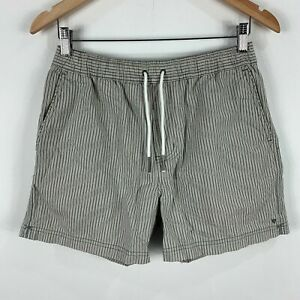 Industrie-Shorts-Mens-Small-Grey-Elastic-Waist-Drawstring