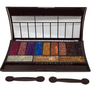 Palette-de-12-fards-a-paupieres-brillants-paillette-scintillant-London-Girl-N-2