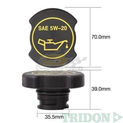 TRIDON OIL CAP FOR Ford Cougar SW 08//00-04//01 V6 2.5L LCBC DOHC 24V TOC530