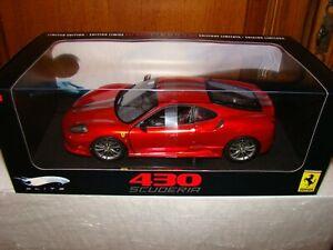 Ferrari 430 Scuderia Elite Rouge Met.   1/18 Eme épuisé édition limitée rare