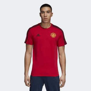 Authentique stripes Homme Adidas d95966 United Noir Manchester 3 T shirt Rouge shQrxdtC