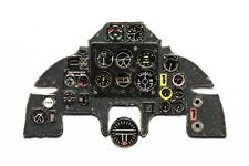 BP DEFIANT PHOTOETCHED, 3D, COLORED INSTRUMENT PANEL TO AIRFIX #4823 1/48 YAHU