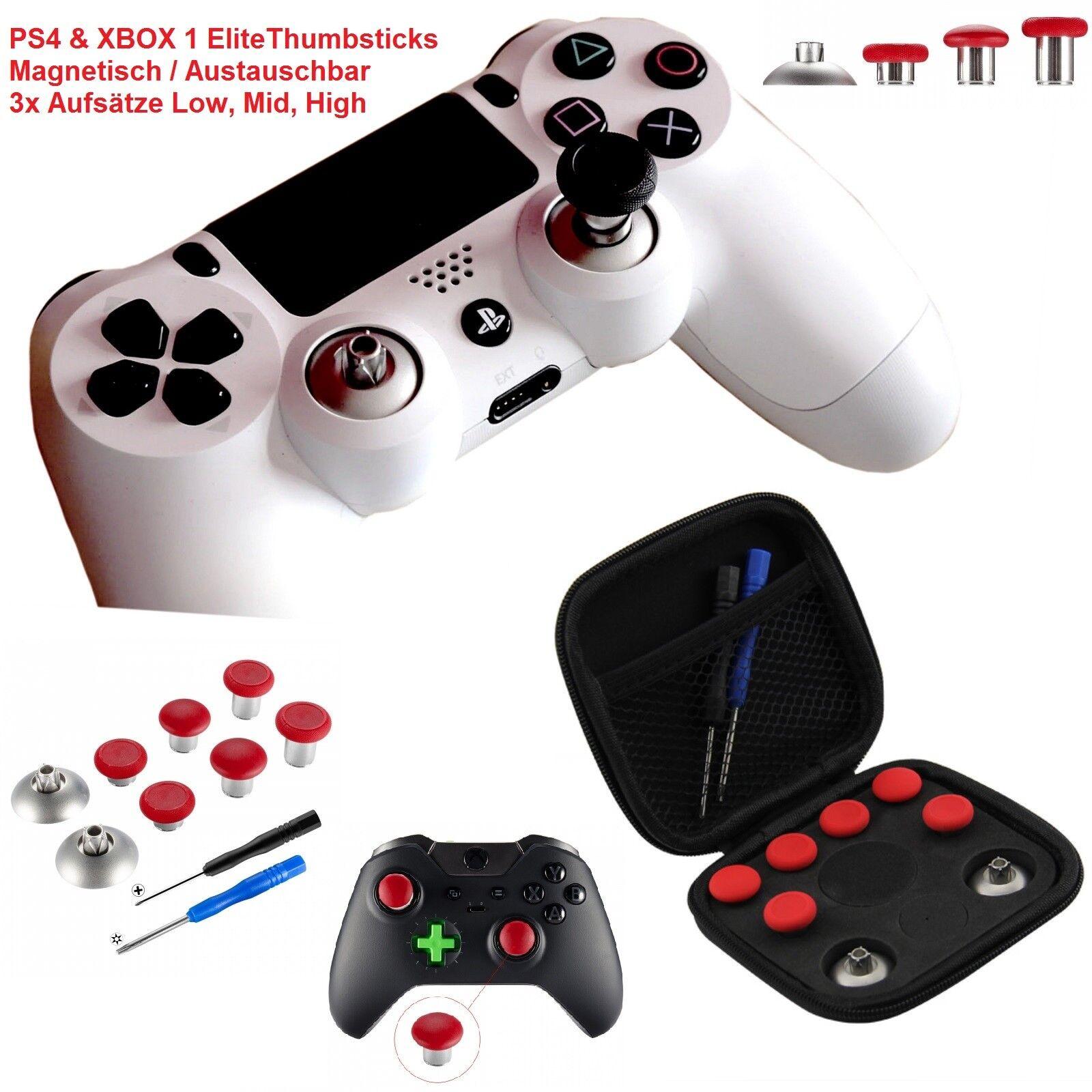 Elite Thumbstick Modding Set PS4 & Xbox 1 Controller Magnetic Interchangeable