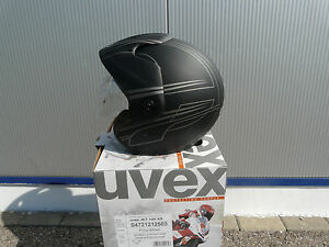 Uvex-Jethelm-Jet-120-Neu-Groesse-XS-letzte-Uvex-UVP-119-95-mattschwarz