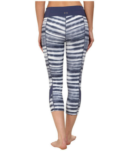 """UNDER ARMOUR WOMEN/'S UA STUDIO TAKE A CHANCE 19/""""FITTED PRINTED CAPRI#1258901-NWT"""