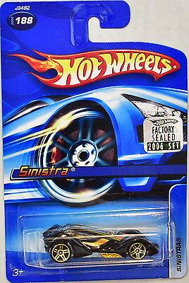 Autos, Lkw & Busse Energisch Hot Wheels 2006 Sinistra #188 Werkseitig Versiegelt Gute WäRmeerhaltung