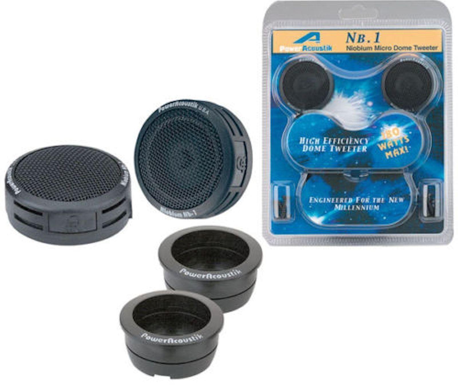 Power Acoustik Nb 2 3 Way 1in Car Speaker Ebay Jl Audio Xd Acs60 6 Gauge Amplifier Amp Wire Installation Kit
