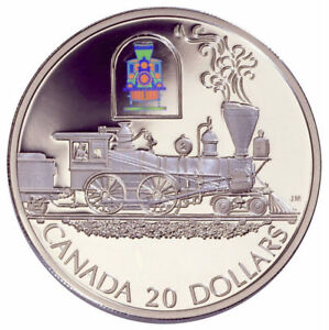 Canada-2000-20-Transportation-Series-The-Toronto-Sterling-Silver-Coin-Proof