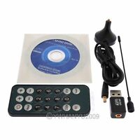 Digital TV Stick DVB-T 02 Digital USB TV CARD TUNER for Freeview Laptop PC Mini