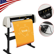 Top 28 Vinyl 720mm Paper Feed Cutter Sign Sticker Cutting Plotter W Stand New