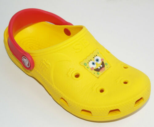 Crocs Ben 10 Dora Spongebob Mini Mickey Mouse UK Size 1 2 3 4 12-13 11 9-10 7-8