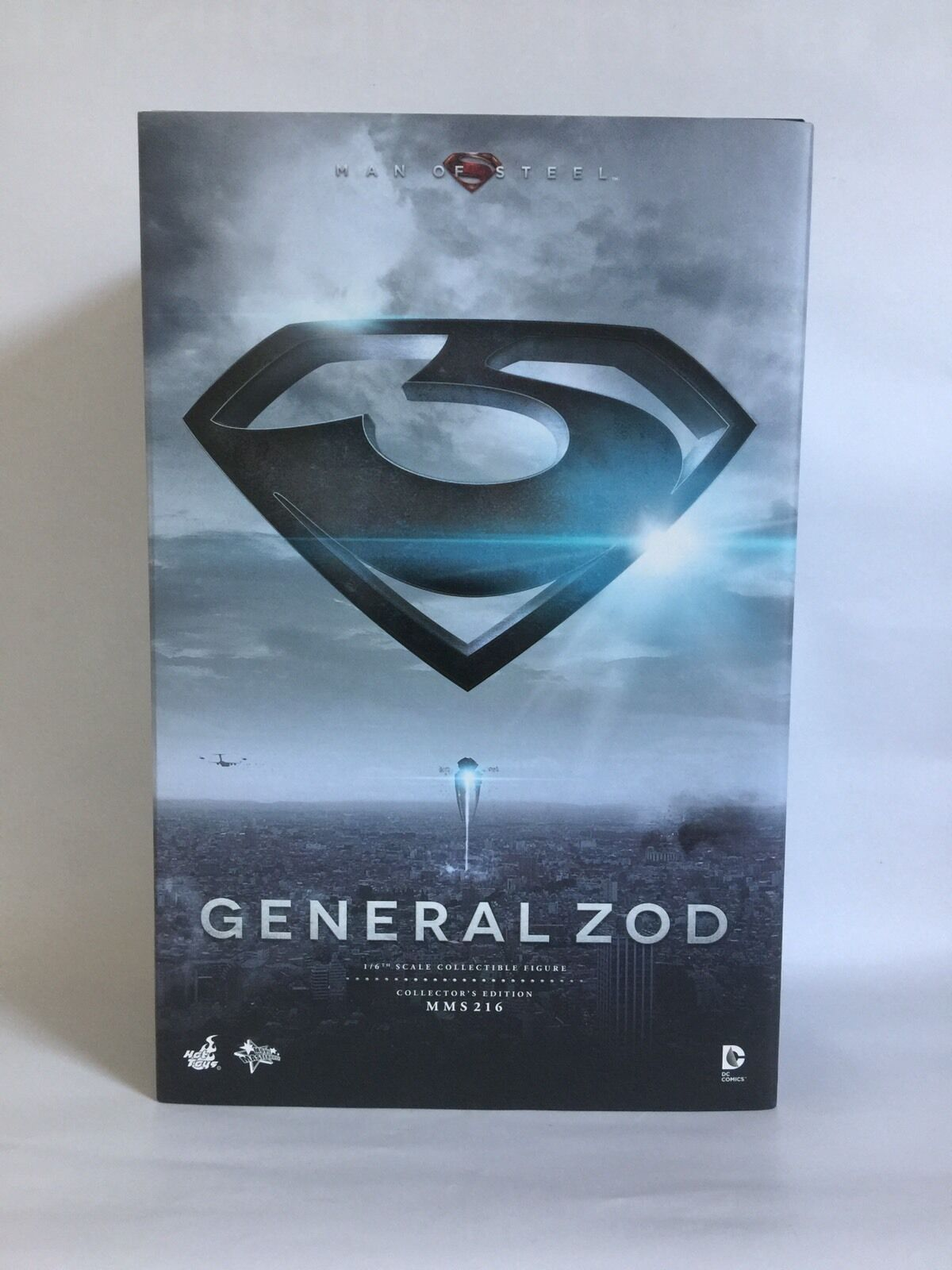 Man Of Steel General Zod 1 1 1 6 Scale Action Figure MMS216 By Hot Toys ff3b2d