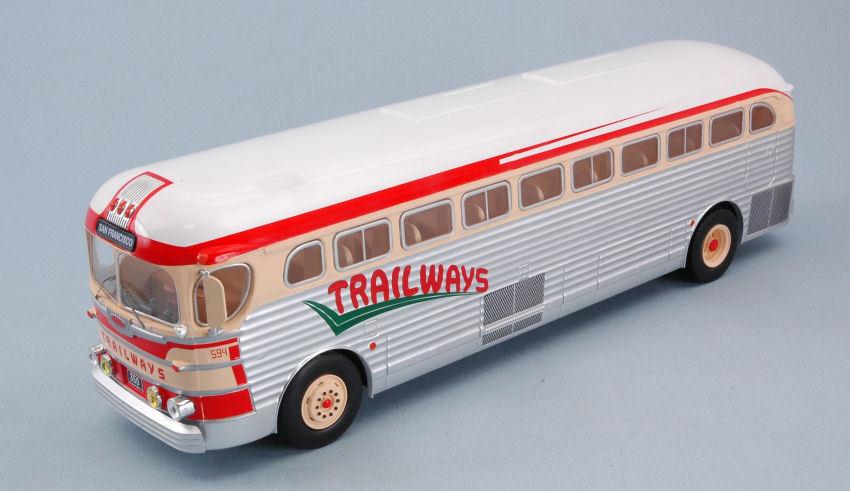 Gmc Pd 3751 Trailways 1955 Bus 1 43 Model IXO MODEL