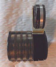 Series 5 Tiffen Photar Filter 4pc Set w/ Kodax Case Retaining Ring & Adapter
