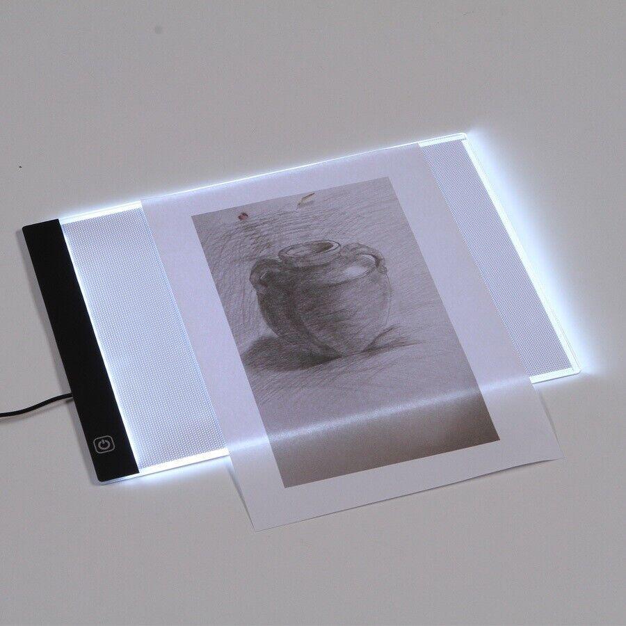 A4 LED lysplade