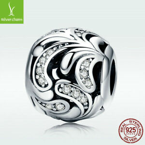 Latest-925-Sterling-Silver-Hollow-Charm-White-CZ-Bead-For-Bracelet-Chain-Jewelry