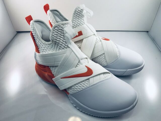 Nike Lebron Soldier 12 White Orange