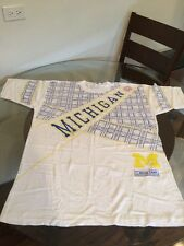 NWOT Vintage Michigan Wolverines Football Basketball T-Shirt Large New W/O Tags