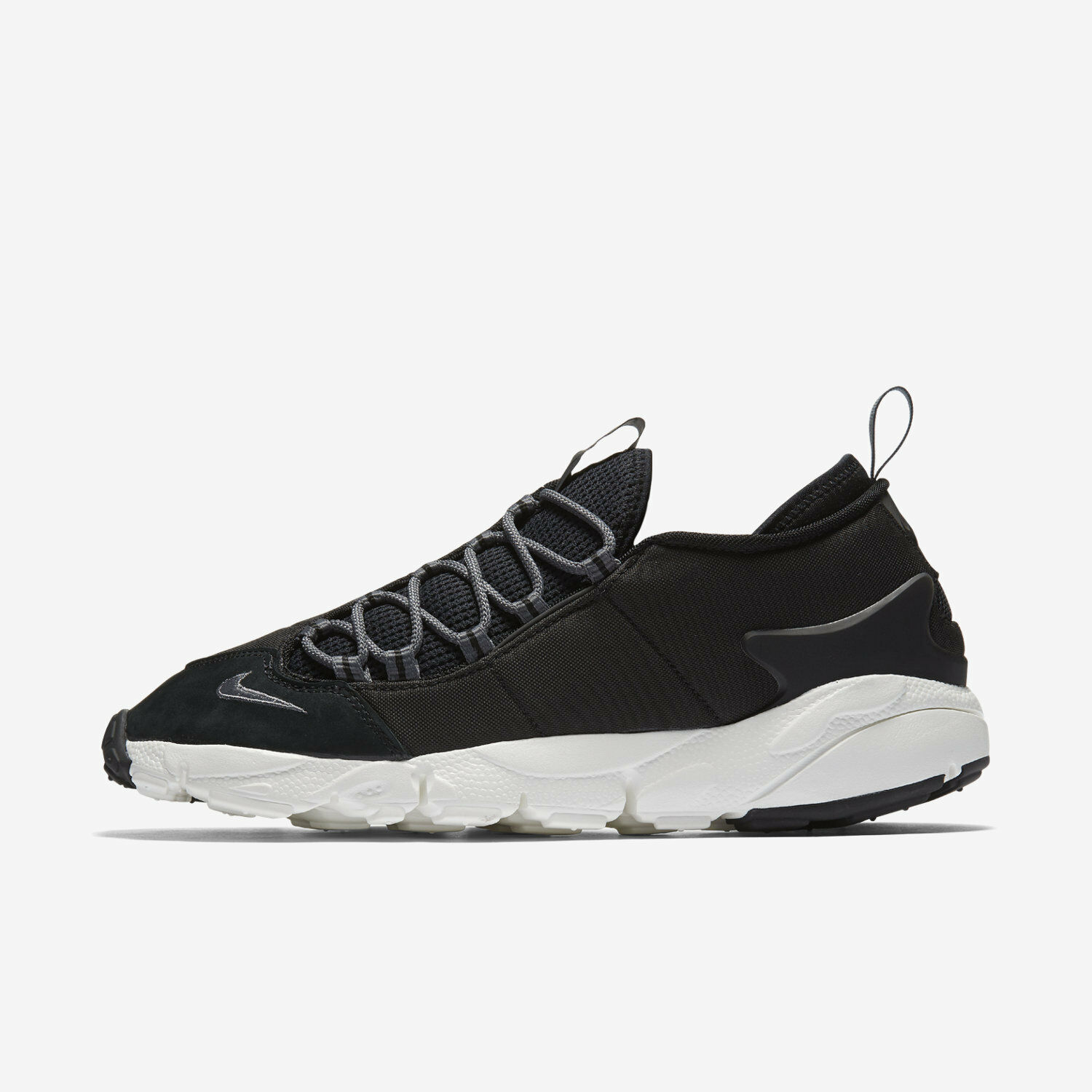 Nike Men's Air Footscape NM Shoes Size 6.5 Black White 852629-002
