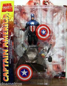 Capitan-Capitan-America-Masked-Marvel-Select-Action-Figure-DIAMOND-TOYS-Avengers