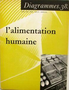 Diagrammes N°38 - 1960 - L'alimentation Humaine - Les Faims - La Chimie -