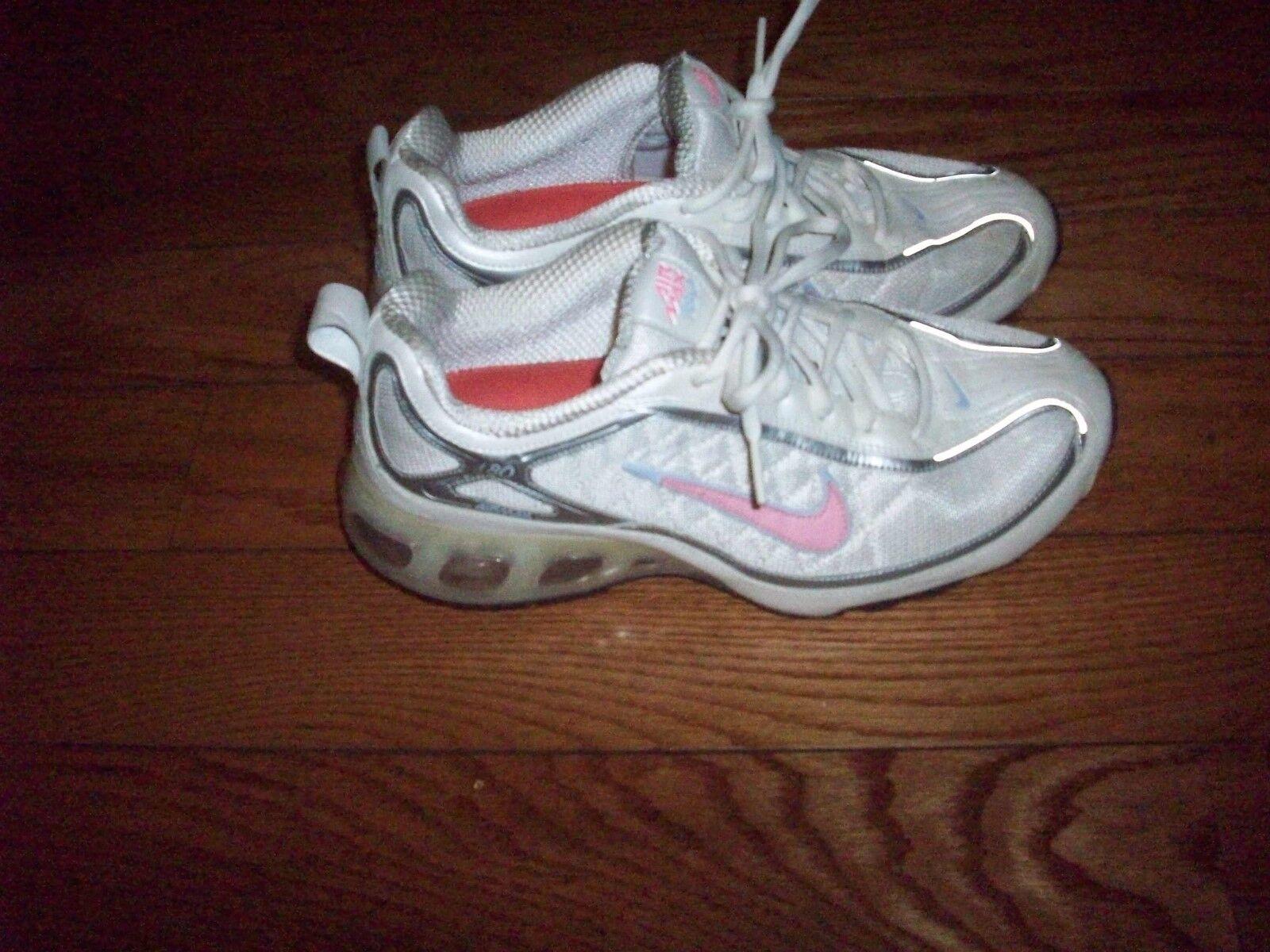 ea6a0f539 Nike Nike Nike Air Max 180 women s running shoes sneakers training pink  white size 8.5 3ea2ea