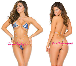 Risque string bikini