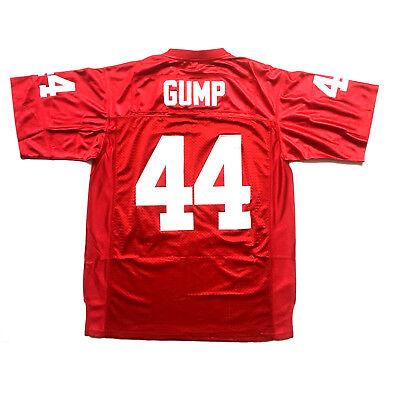 Forrest Gump #44 University of Alabama Football Jersey Tom Hanks S XL,XXL M L