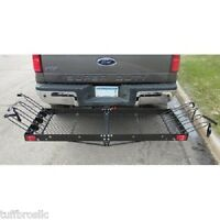 Ultra-Tow FTF-2762KR 2-in-1 Steel Cargo Carrier with 4-Bike Rack (Silver)