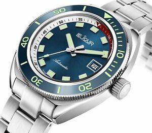 JOUR-Hammerhead-ETA-LE-Quadrante-Blu-200M-Diver-International-shipping-Dealer