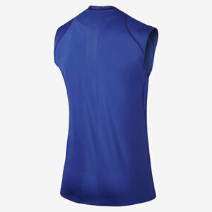 07437ff705a1 Details about NWT M~L~XL~2XL Nike Pro Cool Sleeveless Fitted DriFIT  Training Basketball Shirt