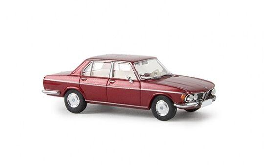 #13606 - Brekina BMW 3.0 Si - rubinrot-metallic - 1:87