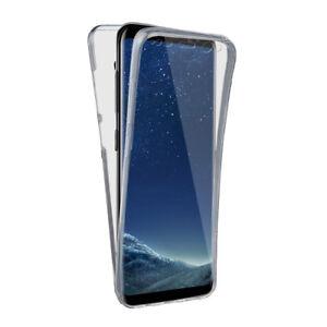 Samsung-Galaxy-S8-Huelle-Komplett-Schutz-Handyhuelle-vorne-und-hinten-TPU-Case